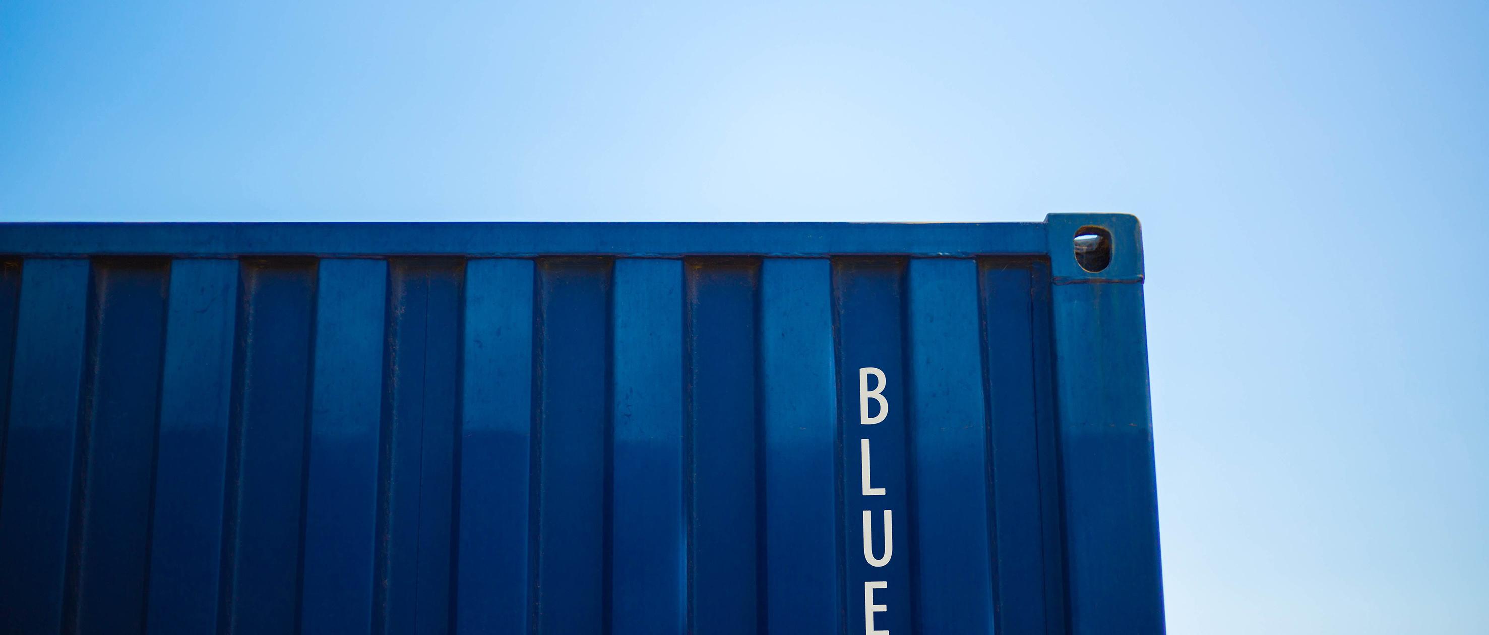 Conteneur maritimes • Bluetainer